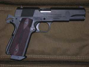 1911 pistol with VZ Grips