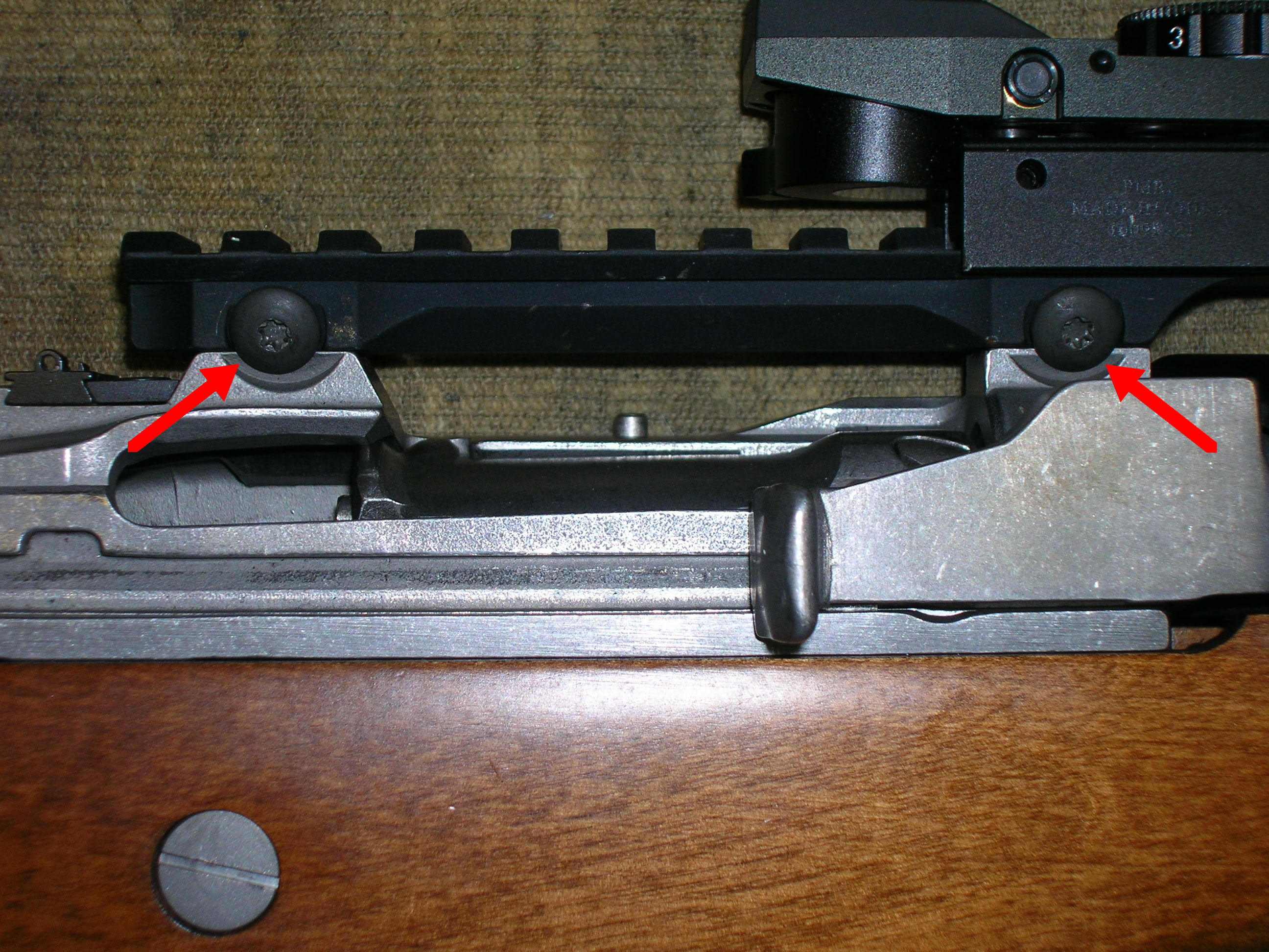 GG&G Picatinny Rail for Mini-14 Ranch Rifle