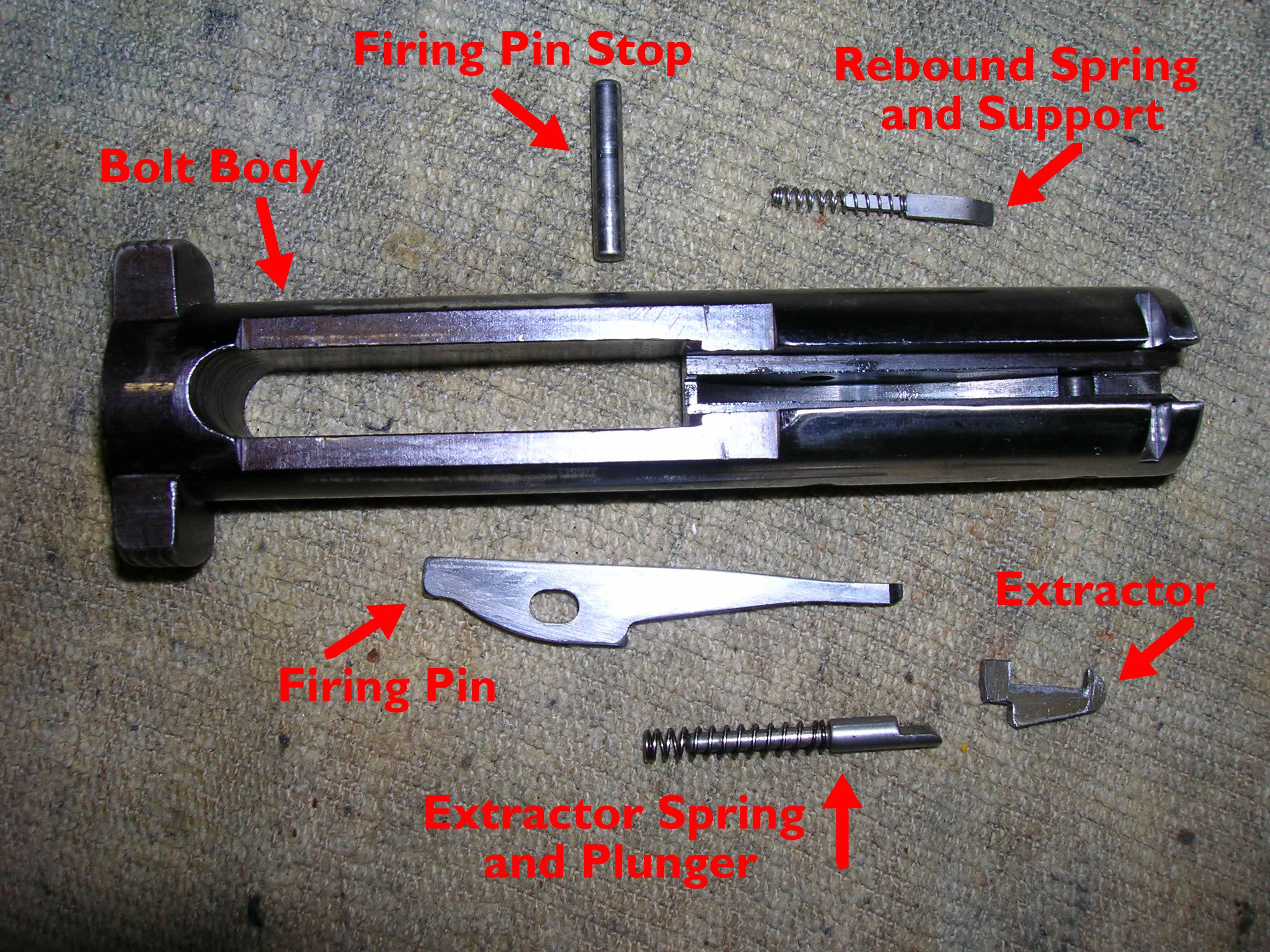 Ruger 10//22 Firing Pin Stop Pin